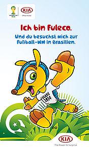 WM-Spiel Deutschland-USA: Großer Auftritt im Stadion von Recife für den zehnjährigen Maurizio aus der Eifel
