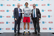 Australien Open: Hauptsponsor Kia übergibt Fahrzeugflotte und präsentiert Superhelden-Mobil