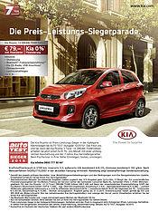 Hoher Komfort, günstige Finanzierung: Kia Picanto 1.0 Dream-Team Edition* ab 79 Euro im Monat**