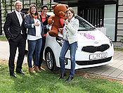 Kia unterstützt Leipziger Kinderhospiz Bärenherz