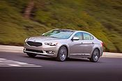 Detroit Auto Show 2013: Premiere der &uuml;berarbeiteten Kia-Limousine Cadenza