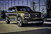 Weltpremiere in Detroit: Luxuriöse SUV-Studie Kia Telluride