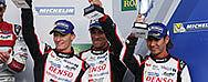 Vielversprechendes Podium für Toyota GAZOO Racing