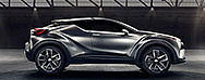 Toyota C-HR wird ein Europäer