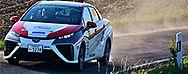 Toyota Mirai absolviert ADAC Rallye Deutschland bravourös