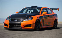LEXUS STARTET MIT MODIFIZIERTEM IS F RACE CAR BEIM PIKES PEAK RENNEN