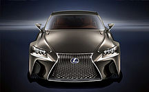 WELTPREMIERE DES LEXUS LF-CC CONCEPT CARS AUF DEM PARISER SALON 2012