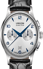 UNION-Glash�tte- NORAMIS-Chronograph-Gangreserve-Datum-Uhren