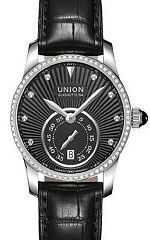 UNION-Glash�tte- SERIS- Kleine Sekunde- Brillanten- Damen-Uhren