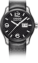 UNION-Glash�tte, Belisar, Panoramadatum-Uhr, Black-PVD, D002.626.26.207.00