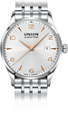 UNION-Glash�tte, Noramis-40mm-Metallband-Uhr, D005.407.11.037.01
