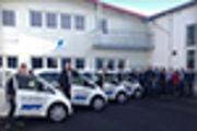 Automobilzulieferer Jopp setzt fünf Mitsubishi Electric Vehicle in einem Feldversuch mit bidirektionaler Powerbox ein