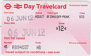 Visitor Travel Card