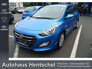 Hyundai i30 blue Kombi 1.6 CRDi Classic 81 kW, 5-türig (