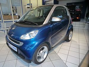 Smart ForTwo Coupe Basis, Panorama, Klima