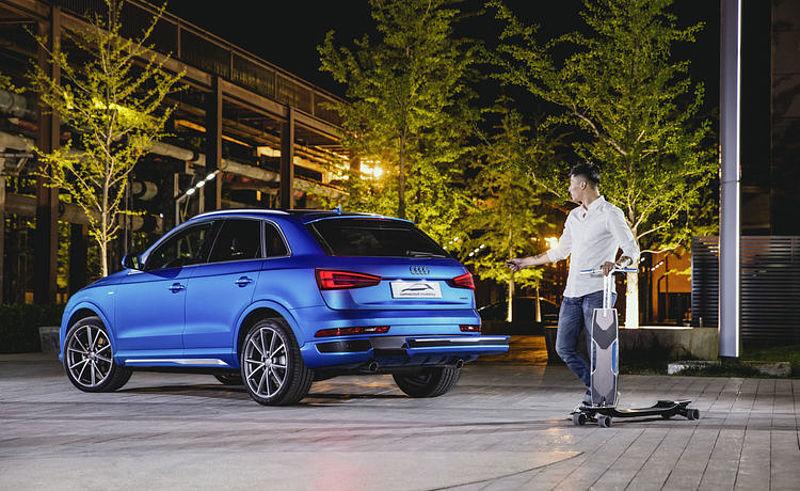 Auto China 2016: Audi stellt Konzeptstudie Audi connected mobility vor
