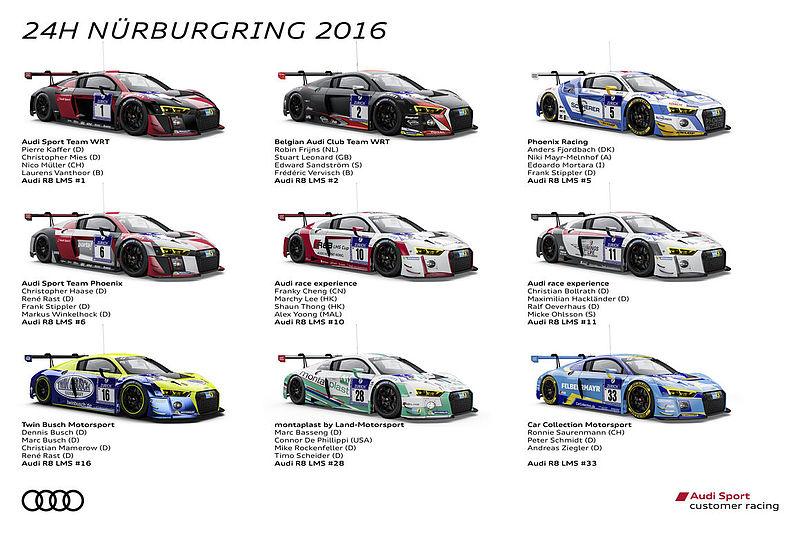 Audi will 24-Stunden-Sieg auf dem Nürburgring wiederholen